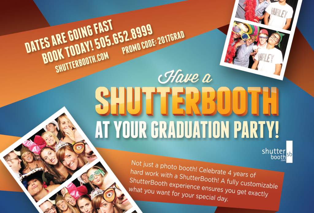 2017 Graduation Special Photo Booth ABQ NM