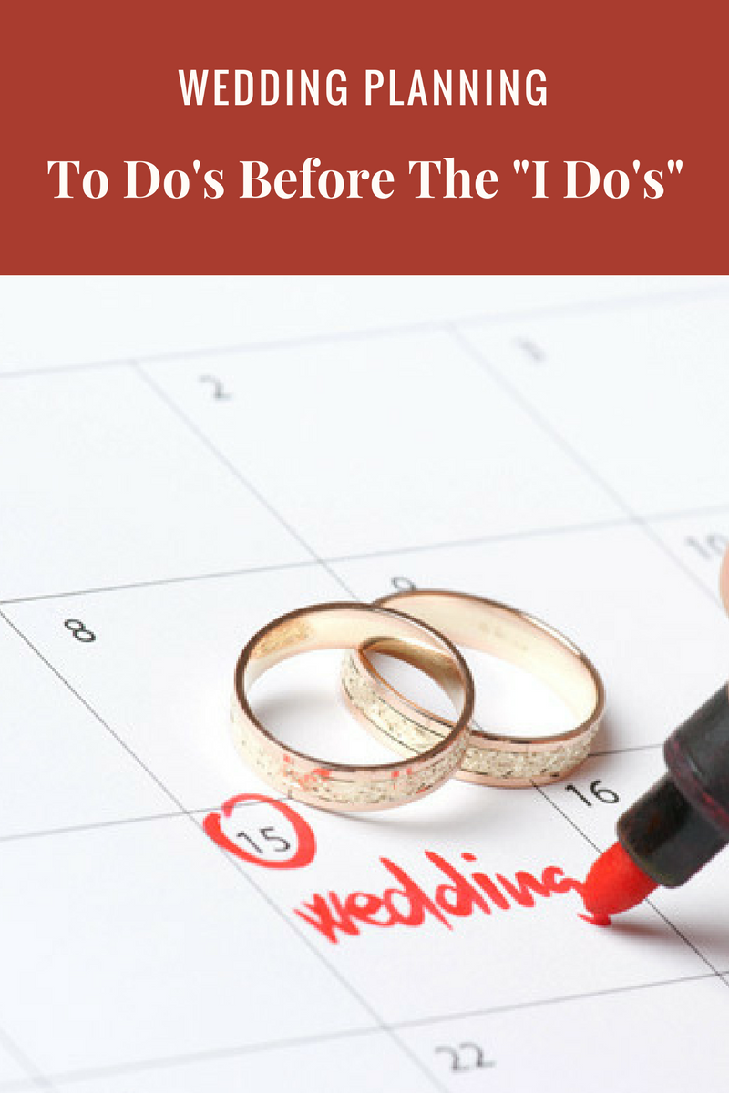 Wedding Planning To Do's