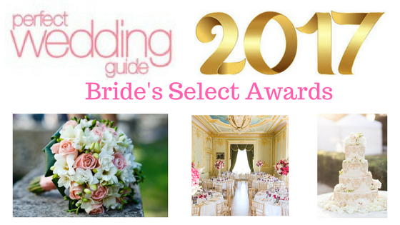 Perfect Wedding Guide Bride's Select Awards 2017