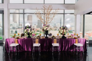 purple estate table
