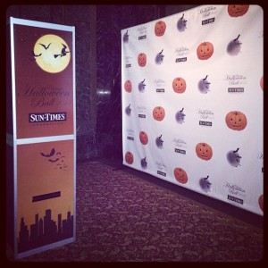Halloween Ball Step & Repeat