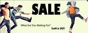 Sale shitless men running