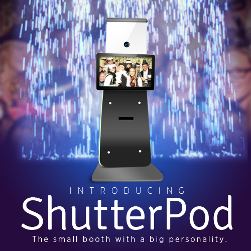 ShutterPod2 Open Air custom backdrop photo booths