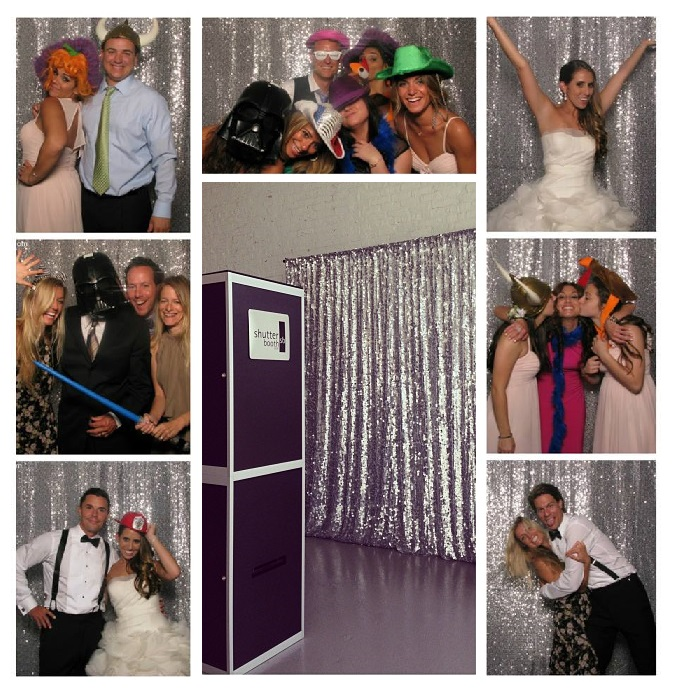 Sequins Are Perfect For Your Photo Booth Rental Milwaukee Backdrop