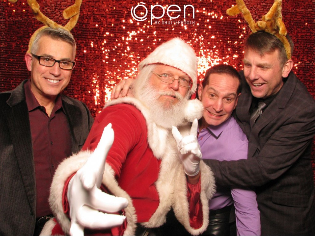 Holiday Party ShutterBooth Photo Booth Rental