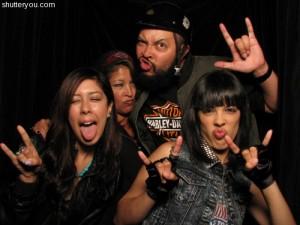 Shutterbooth Goes Biker Chick Chic Harley Davidson Style