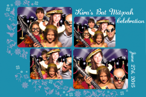 bat mitzvah photobooth