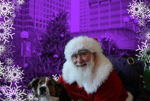 Even Dogs wanna see SANTA!