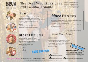 2018 NM Wedding Guide Wedding Show special pricing
