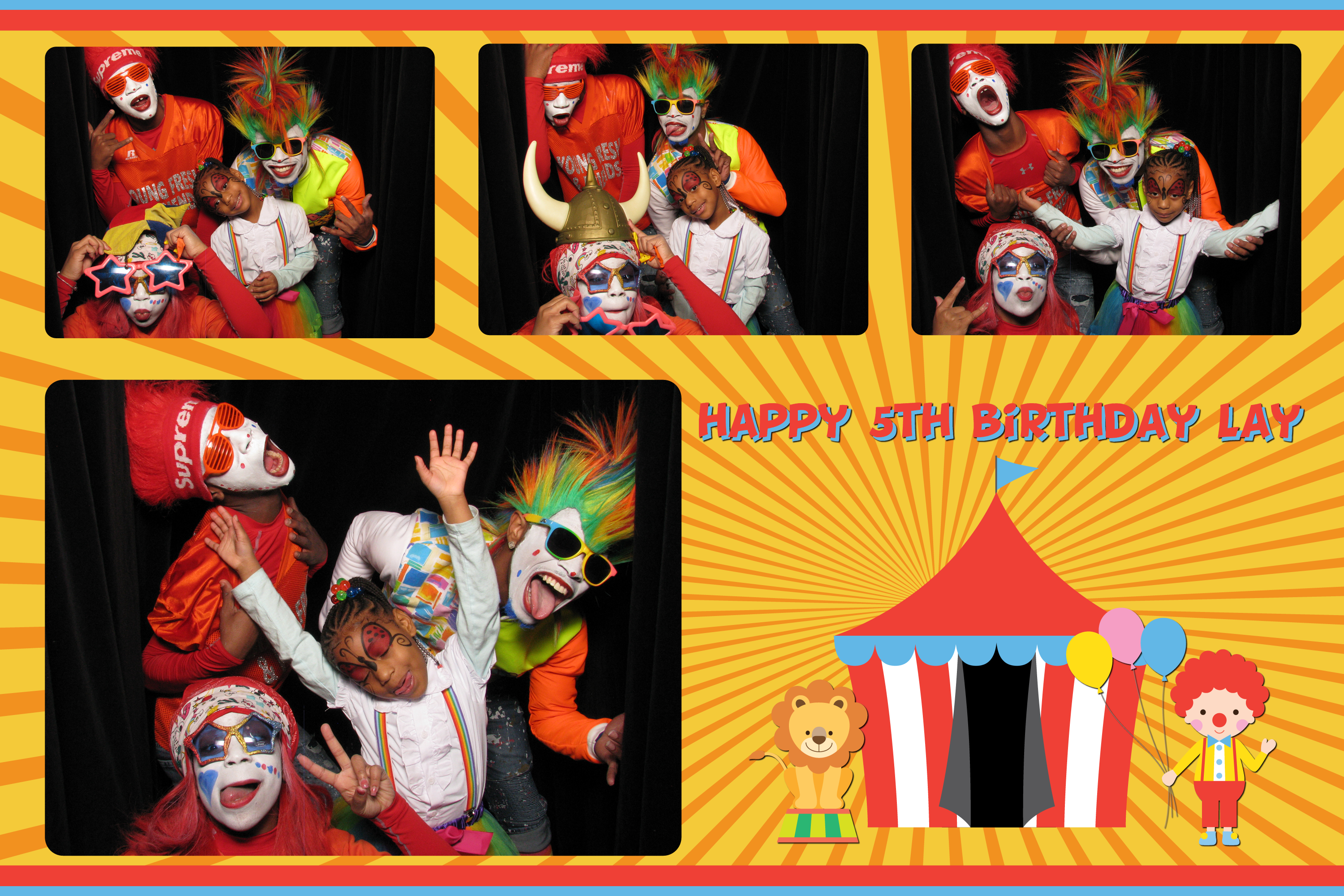 5f2c1a16e The party had a circus theme and Time to Play Party Rentals provided a  bounce ...