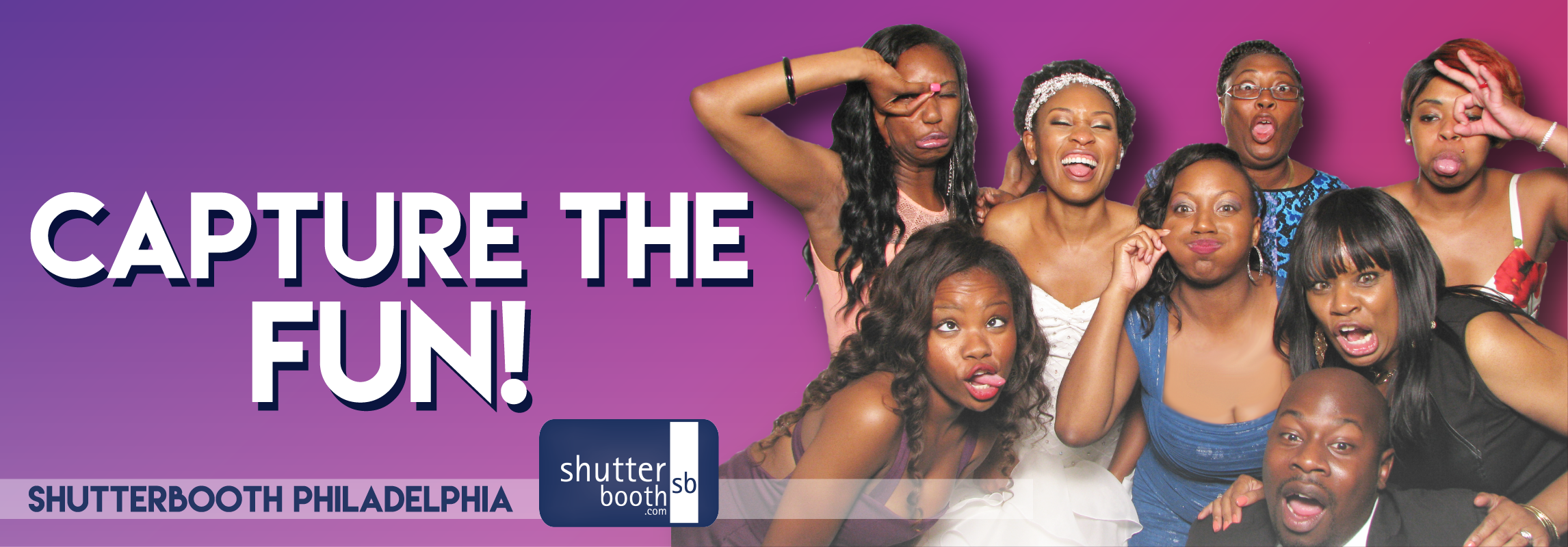 ShutterBooth Philadelphia Capture the FUN Header