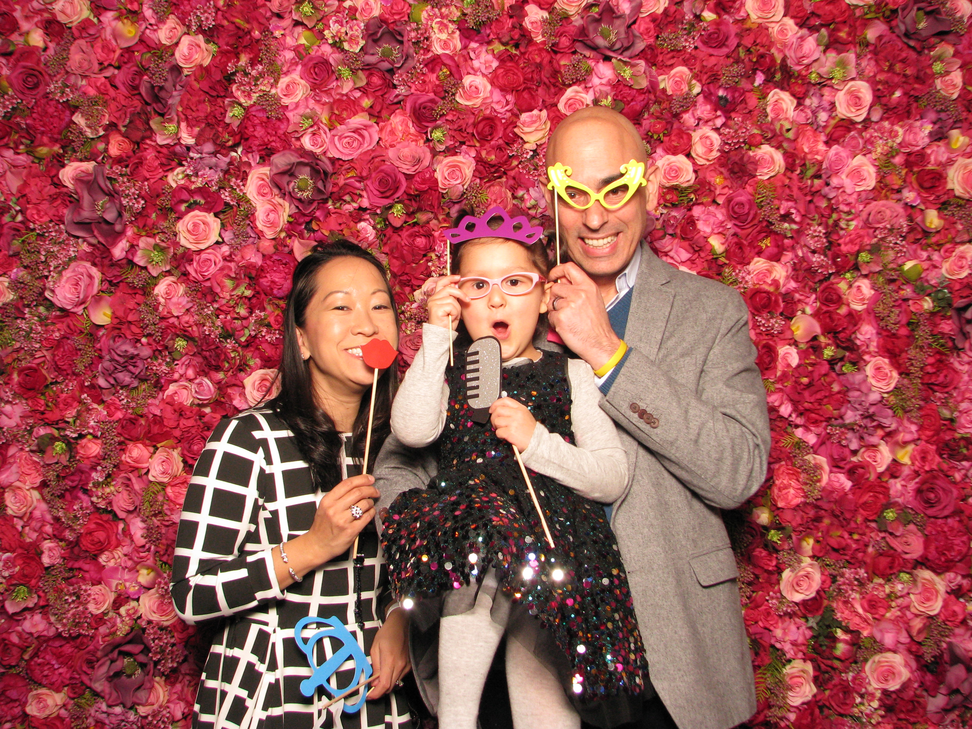 ShutterBooth Philadelphia Fred's Footsteps Urban Outfitters Navy Yard Philadelphia Nicol Floral Design Floral Backdrop