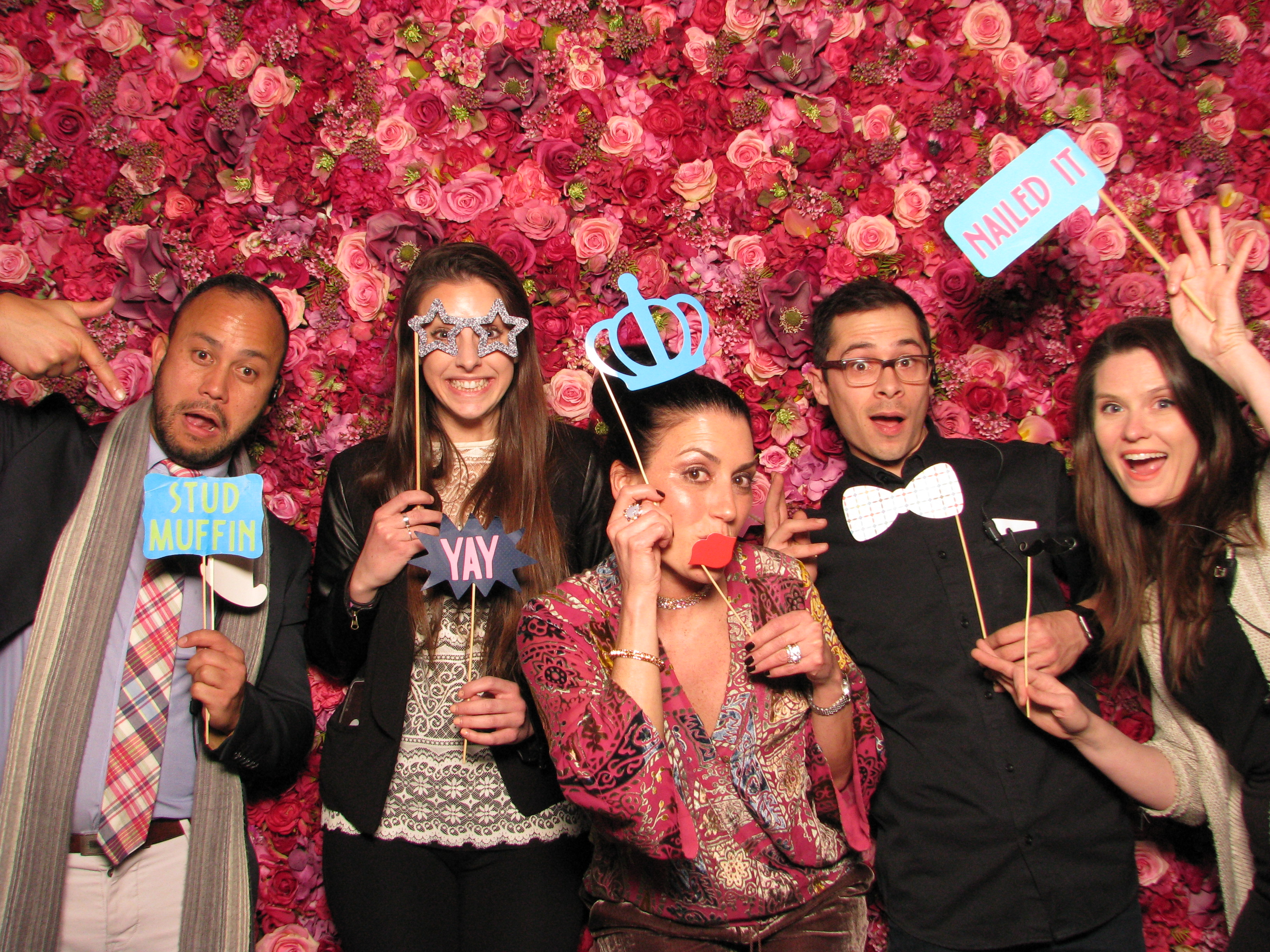 ShutterBooth Philadelphia Fred's Footsteps Urban Outfitters Navy Yard Philadelphia Nicol Floral Design Floral Backdrop 4