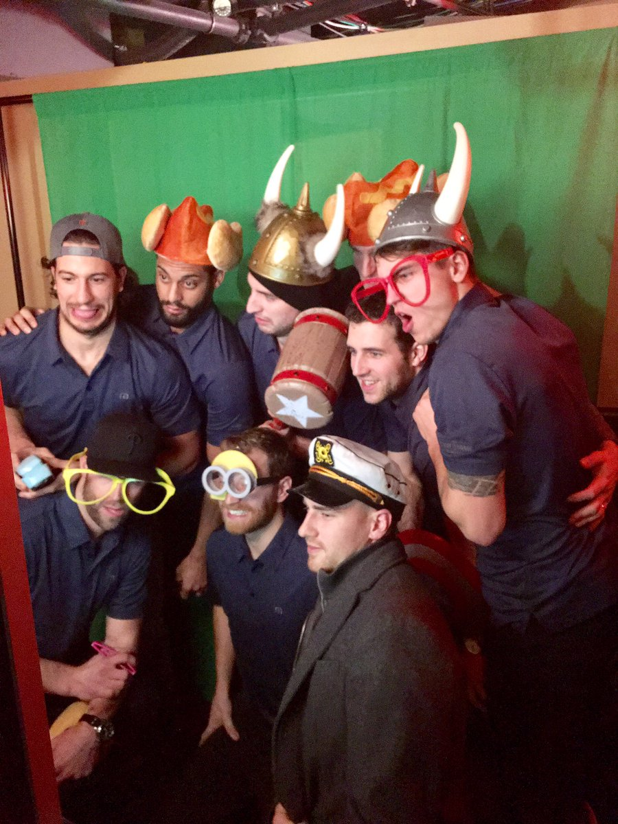 ShutterBooth Philadelphia Claude Giroux Foundation 2017 Green Screen
