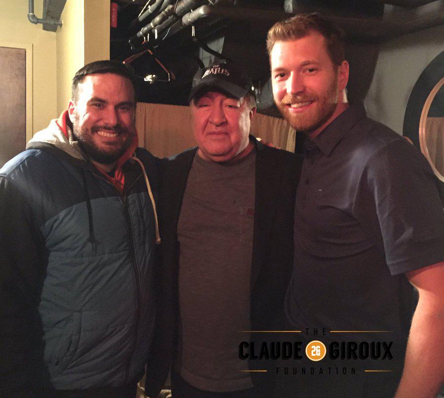 ShutterBooth Philadelphia Claude Giroux Foundation Steve Simeone Dom Irrera 2017