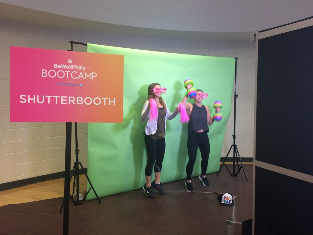 ShutterBooth Philadelphia Be Well Bootcamp 2017